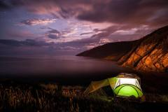 Camping in Meat Cove Campground