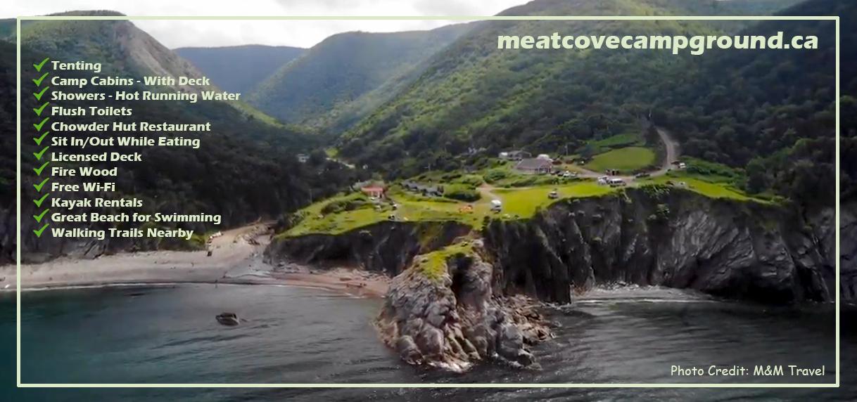 Meat Cove Campground Cape Breton